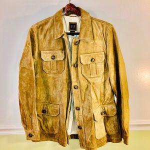 GAP Leather Khaki Color Jacket
